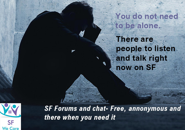It is not easy to be alone in your mind. Talk to somebody.