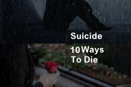 The things that people really die from when committing suicide.